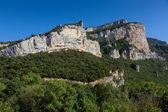 Kanjonen i horadada, trespaderne, burgos, spanien — Stockfoto