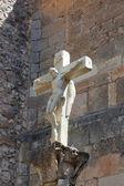 Cross in Covarrubias, Burgos, Castilla y Leon, Spain — Stock Photo