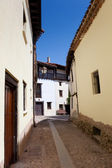 Straat van covarrubias, burgos, castilla y leon, spanje — Stockfoto