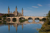 The Pilar, Zaragoza, Aragon, Spain — Stock Photo
