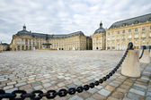 Square of the Bourse, Bordeaux, France — Stock Photo