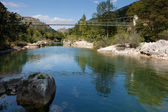 Dobra river, Asturias, Spain — Stock Photo