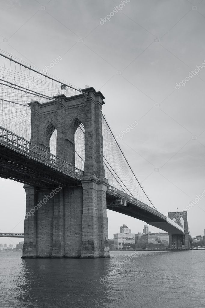 Brooklin bridge, New York, USA — Stock Photo #8019625