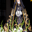 Show in saint week, Medina de Pomar, Burgos, Spain - Stockfoto