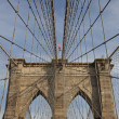 Stock Photo: Brooklin bridge, New York, USA