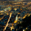 Stock Photo: Nightfall in Santurtzi, Bizkaia, Spain