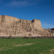 Landscape of Bardenas reales, Navarra, Spain — Stock Photo