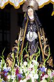 Show in saint week, Medina de Pomar, Burgos, Spain — Stock Photo