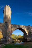 Köprü frias, burgos, castilla y leon, i̇spanya — Stok fotoğraf