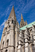 Cathedral of Chartres, Eure y Loir, France — Stock Photo