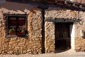 улица calatanazor, бургос, кастилия и леон, испания — Стоковое фото