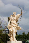 Statue in the gardens of Versalles, France — Stock Photo