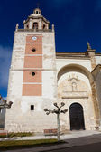 Church of San Andres, Carrion de los Condes, Tierra de Campos, P — Stock Photo