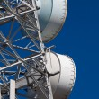 Telecommunications tower — Stock Photo #9595641
