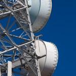 Telecommunications tower — Stock Photo