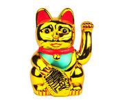 Maneki Neko lucky cat — Stock Photo