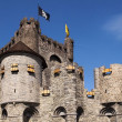 Stock Photo: Castle Gravenshteyn in Gent