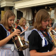 Stock Photo: Festivities in fishing village of Volendam, Netherlands