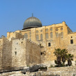 Ancient walls of Jerusalem — Stock Photo