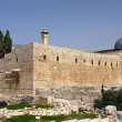 Archaeological park of Jerusalem — Stock Photo