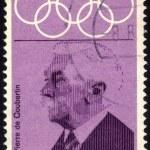 Portrait of Pierre de Coubertin — Stock Photo #10531230
