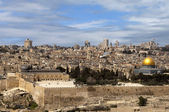 View of the old Jerusalem — Stock Photo