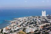 Aerial view of Haifa — Stock Photo