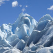 Stock Photo: Blue ice Perito Moreno