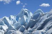 Azul gelo glaciar perito moreno — Fotografia Stock