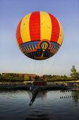 Colorful air balloon — Stock Photo