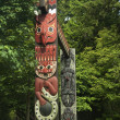 图库照片: TOTEM PARK AT THE PROVINCIAL MUSEUM