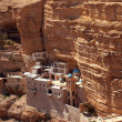 Monastery of St. George, Wadi Kelt - Stock Photo