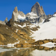 Mount Fitz Roy, Patagonia Argentina - Stock Photo