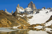 Mount Fitz Roy, Patagonia Argentina — Stock Photo