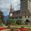 Stock Photo: Old house in Spiez