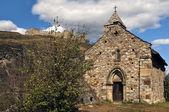 Chapel of Castle Tourbillon — Stock Photo