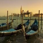 weneckie gondole — Zdjęcie stockowe