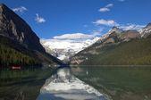 Jezioro agnes. banff alberta — Zdjęcie stockowe