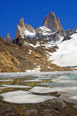 Top of Fitz Roy — Stock Photo