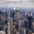 New York view from the top — Stock Photo
