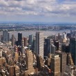 图库照片: VIEW OVER MANHATTAN, NEW YORK