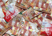 Israel NIS 200 banknotes — Stock Photo