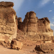 Timna  Park, Arava Desert — Stock Photo