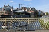 Paesaggio urbano in belgio — Foto Stock