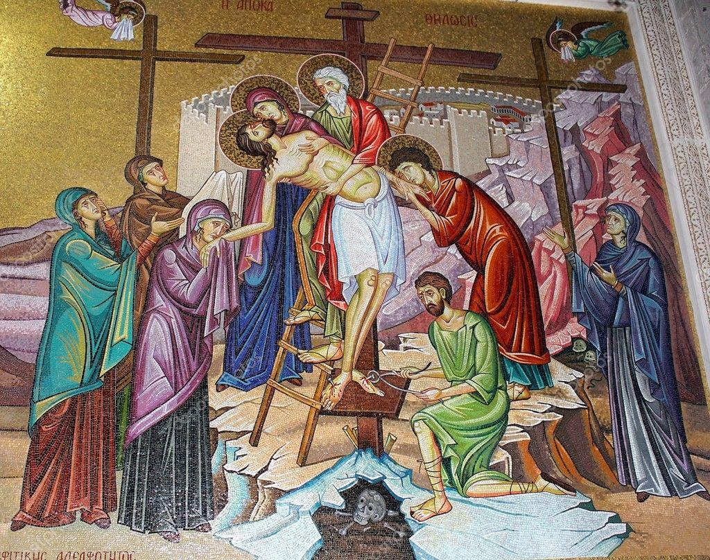 Resultado de imagem para retirada de Jesus da cruz icone
