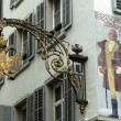 Stock Photo: Corner of Old Lucerne,switzerland