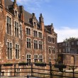 Old brick house in Gent, Belgium — Stockfoto #9746991