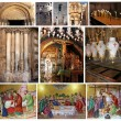 Stock Photo: Collage of Church of Holy Sepulcher.Jerusalem