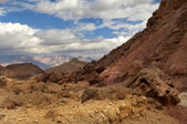 Mountainous desert in Israel — Stock Photo