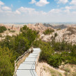 Badlands Boardwalk — Stock Photo